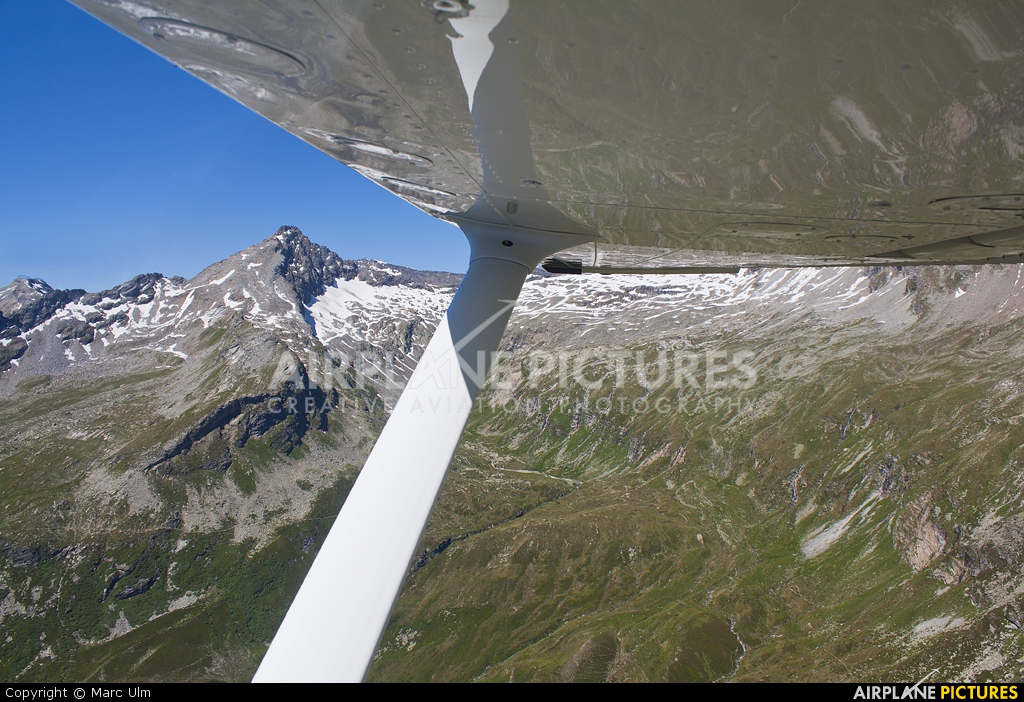Private D-ETTP aircraft at Switzerland - In Flight
