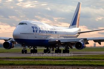 VP-BGY - Transaero Airlines Boeing 747-300