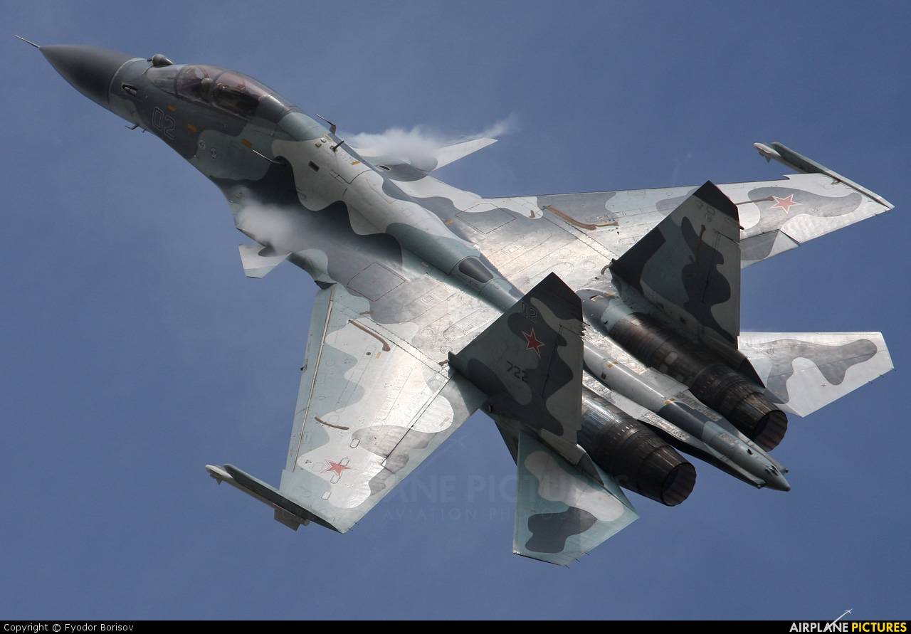 Russia - Air Force 722 aircraft at Ramenskoye - Zhukovsky