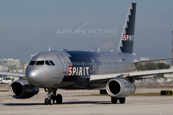 N528NK - Spirit Airlines Airbus A319