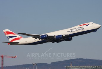 G-GSSD - Global Supply Systems Boeing 747-8F