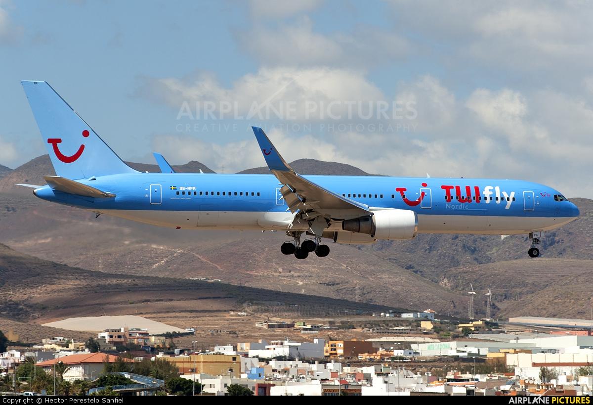 TUIfly Nordic SE-RFR aircraft at Las Palmas de Gran Canaria