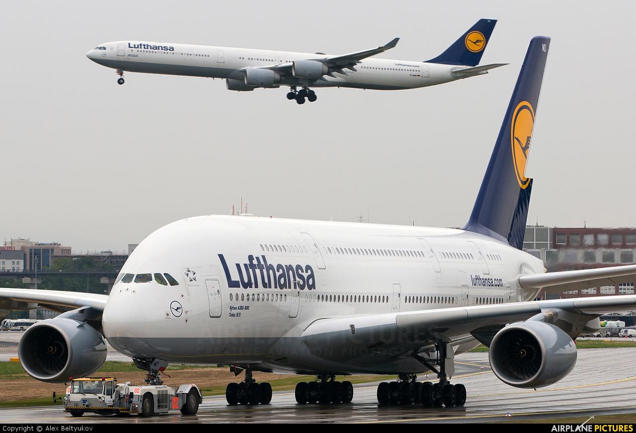 Lufthansa D-AIMD aircraft at Frankfurt