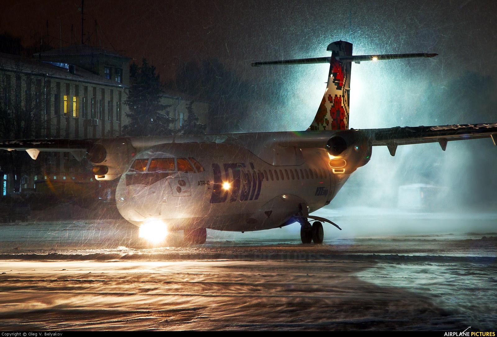 UTair UR-UTB aircraft at Kyiv - Zhulyany