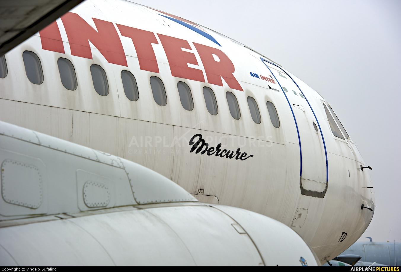 Air Inter F-BTTD aircraft at Paris - Le Bourget