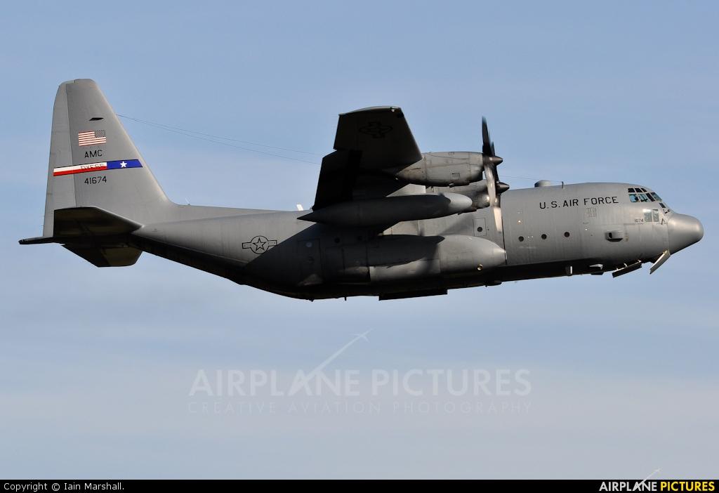USA - Air Force 74-1674 aircraft at Prestwick