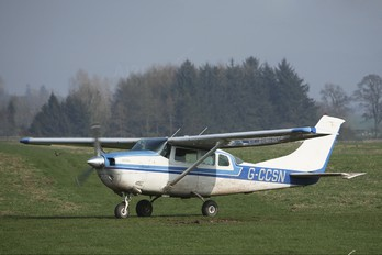 G-CCSN - Scottish Parachute Club Cessna 206 Stationair (all models)