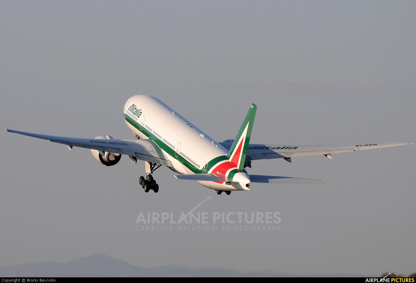 Alitalia EI-DBK aircraft at Rome - Fiumicino