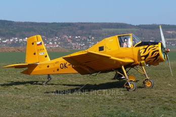 OK-NJK - Air Special Zlín Aircraft Z-37A Čmelák