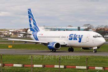 AP-BKF - Bhoja Airlines Boeing 737-400