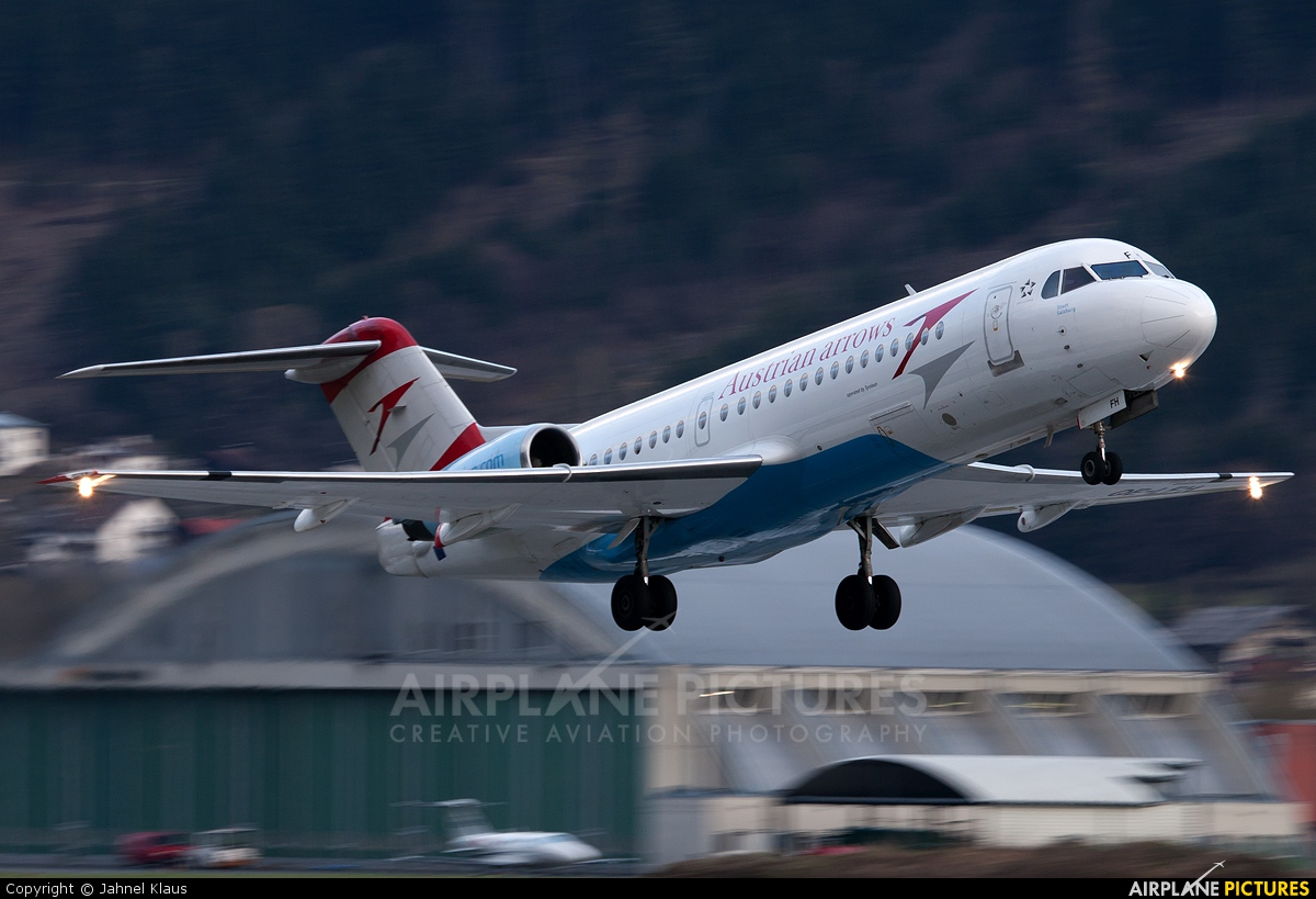 Austrian Airlines/Arrows/Tyrolean OE-LFH aircraft at Innsbruck
