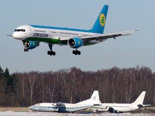 VP-BUB - Uzbekistan Airways Boeing 757-200