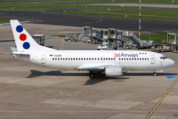 YU-ANV - JAT Airways Boeing 737-300
