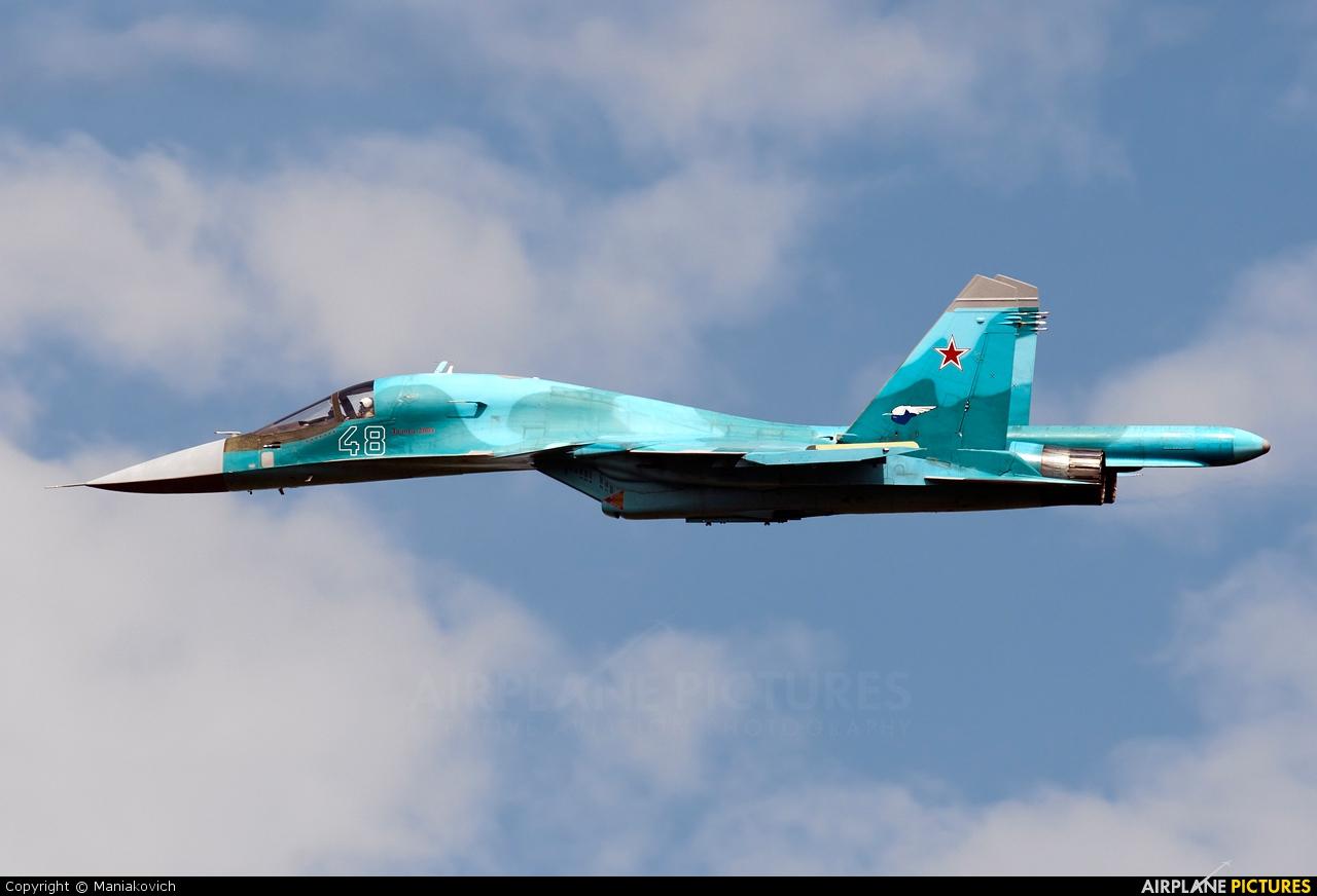 Russia - Air Force 48 aircraft at Ramenskoye - Zhukovsky
