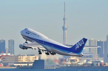 JA8959 - ANA - All Nippon Airways Boeing 747-400D
