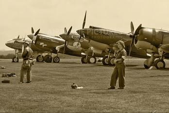 - - Private Curtiss P-40F Warhawk