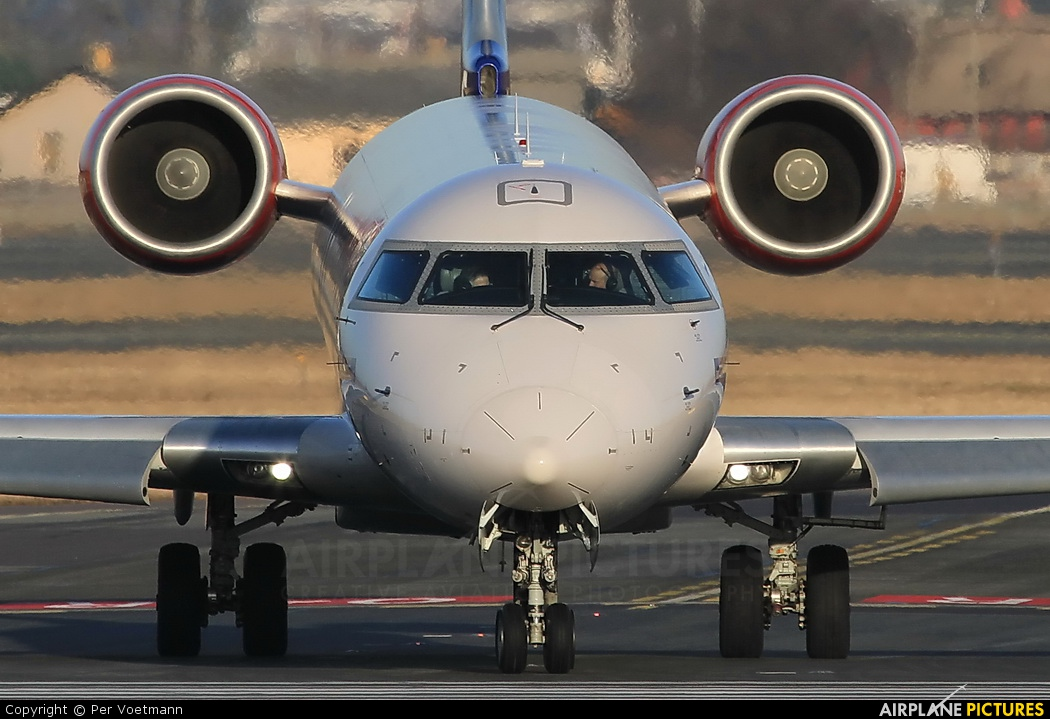 SAS - Scandinavian Airlines OY-KFC aircraft at Copenhagen Kastrup
