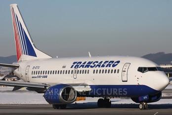 EI-DTX - Transaero Airlines Boeing 737-500