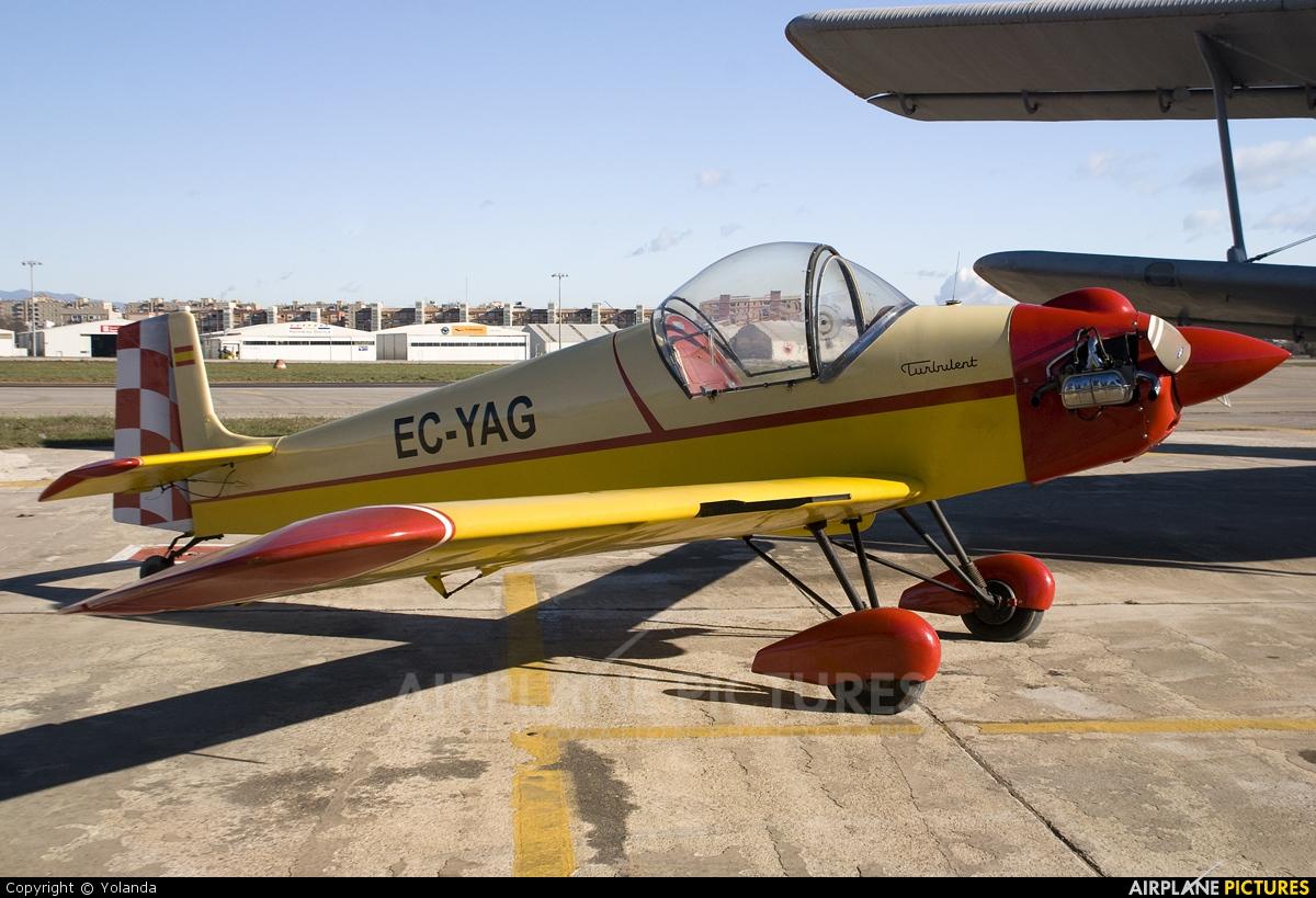 Private EC-YAG aircraft at Sabadell