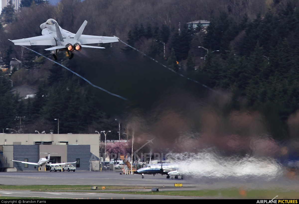 USA - Navy 166451 aircraft at Seattle - Boeing Field / King County Intl