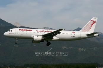 TS-IMN - Tunisair Airbus A320