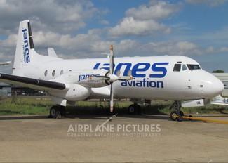 G-AYIM - Janes Aviation Hawker Siddeley HS.748