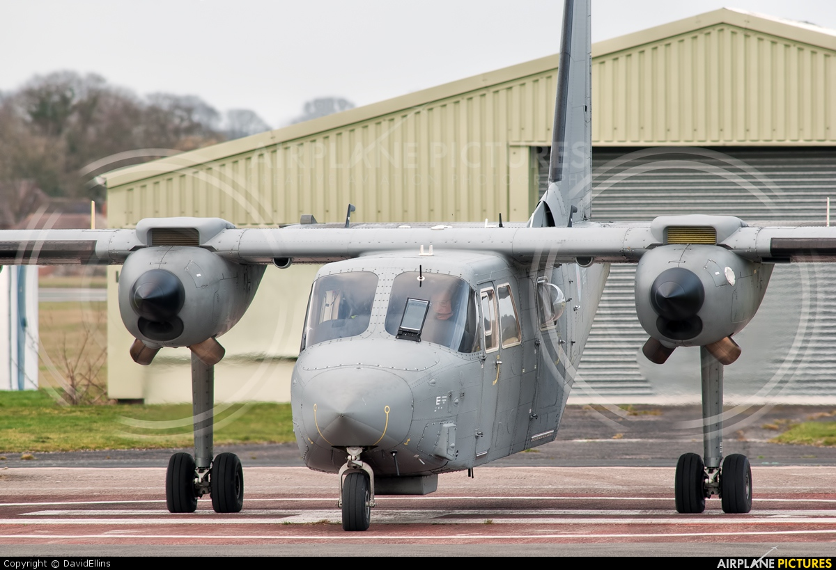 British Army ZH537 aircraft at Wolverhampton - Halfpenny Green