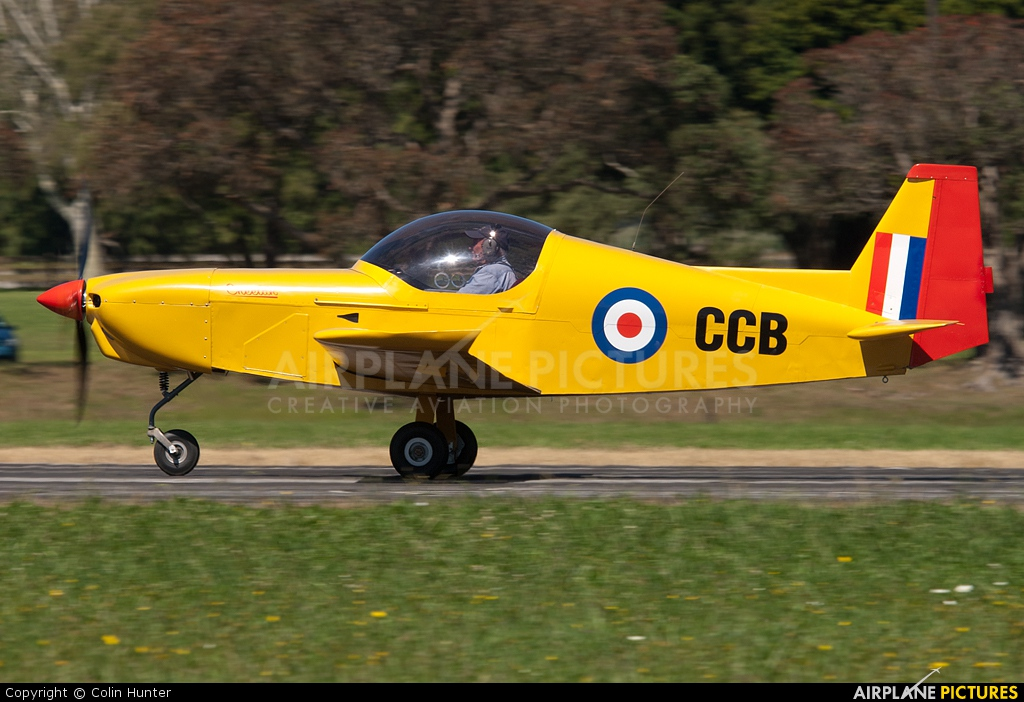 Private ZK CCB Aircraft At Ardmore