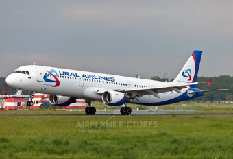 VQ-BKJ - Ural Airlines Airbus A321