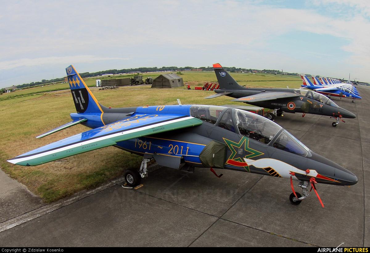 France - Air Force E107 aircraft at Koksijde