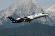 S5-AAF - Adria Airways Canadair CL-600 CRJ-200 aircraft