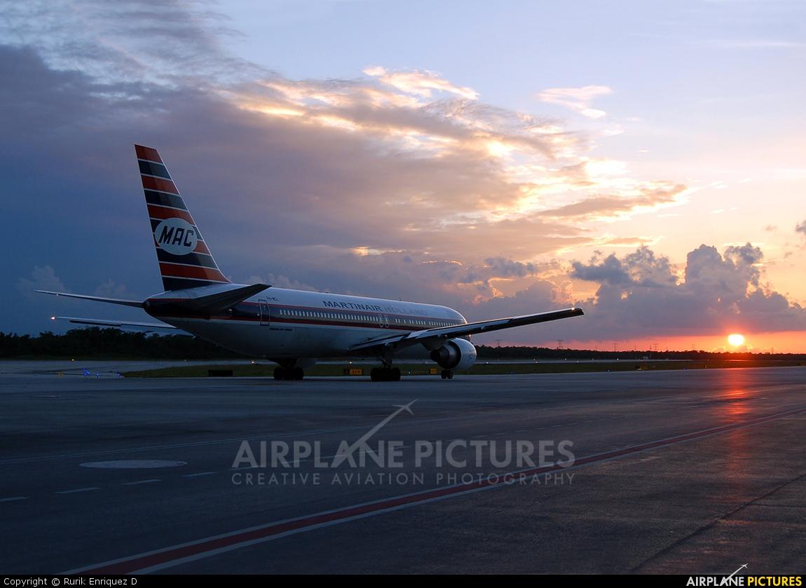 Martinair PH-MCL aircraft at Cancun Intl