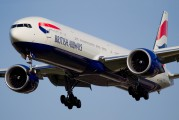 G-STBF - British Airways Boeing 777-300ER aircraft