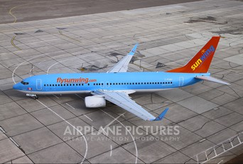 C-FUAA - Sunwing Airlines Boeing 737-800