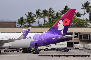 N580HA - Hawaiian Airlines Boeing 767-300ER