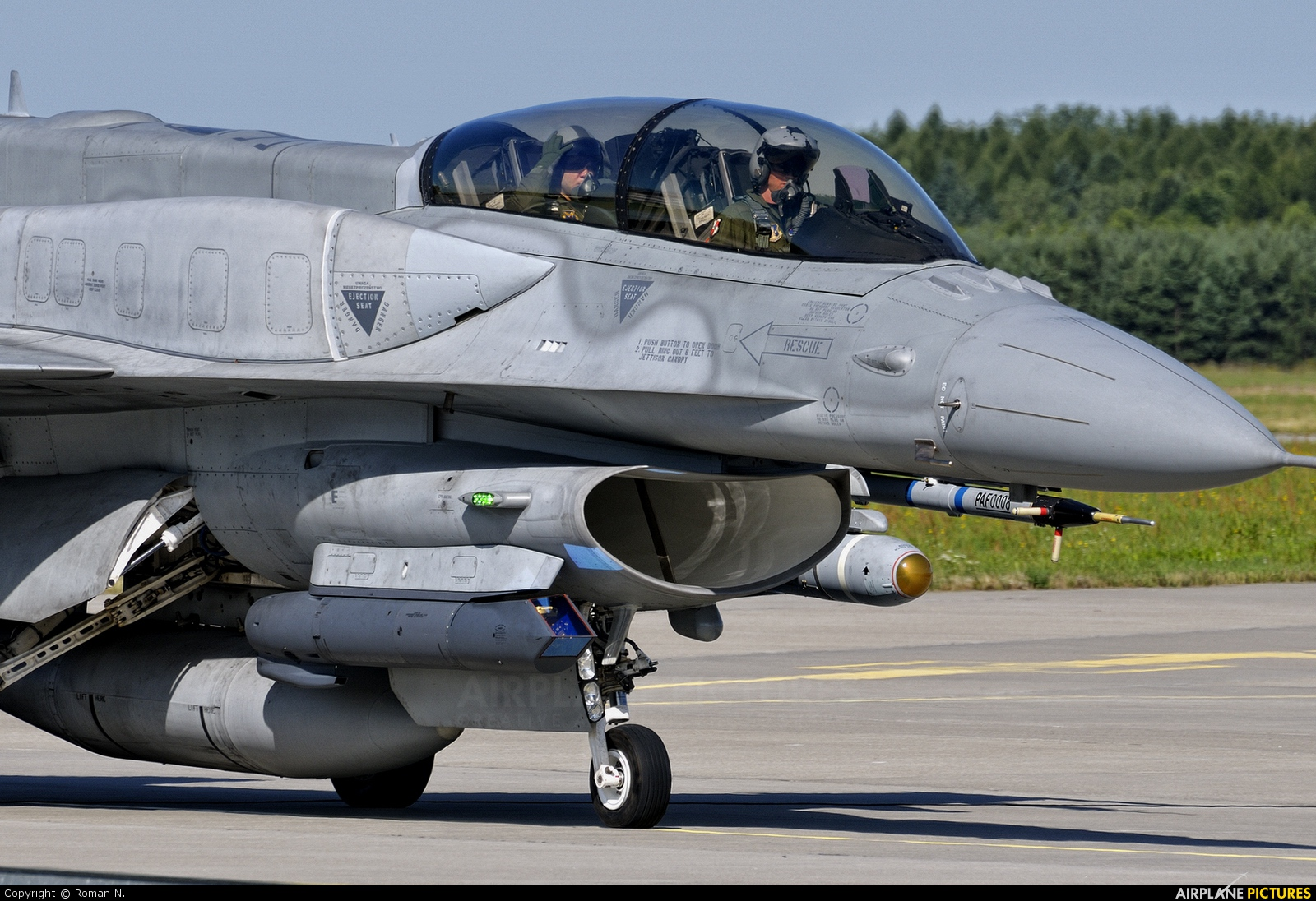 Poland - Air Force 4076 aircraft at Poznań - Krzesiny