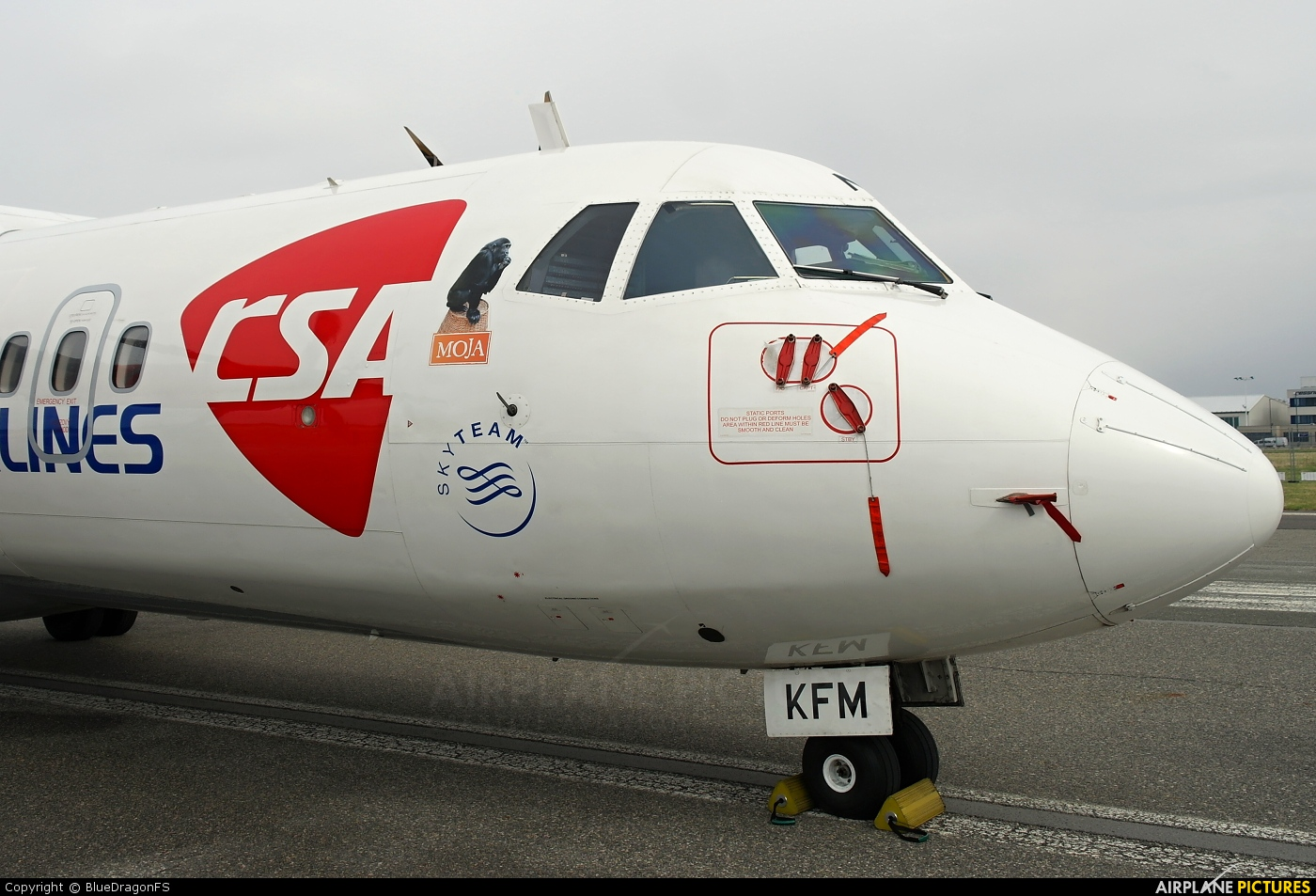 CSA - Czech Airlines OK-KFM aircraft at Prague - Václav Havel