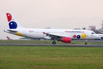 N260AV - Viva Colombia Airbus A320