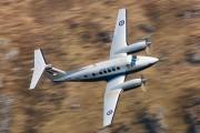 ZK455 - Royal Air Force Beechcraft 200 King Air aircraft