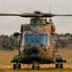 ZJ992 - Royal Air Force Agusta Westland AW 101 411 Merlin HC.3