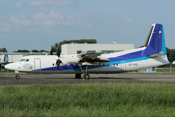 OY-PCI - Private Fokker 50