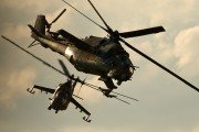 574 - Hungary - Air Force Mil Mi-24D aircraft