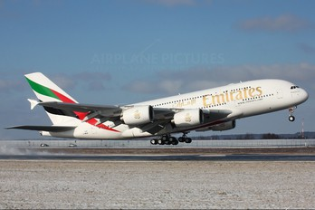 F-WWAB - Emirates Airlines Airbus A380