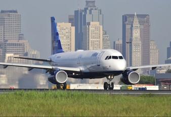 N760JB - JetBlue Airways Airbus A320