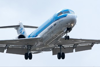 PH-WXC - KLM Cityhopper Fokker 70
