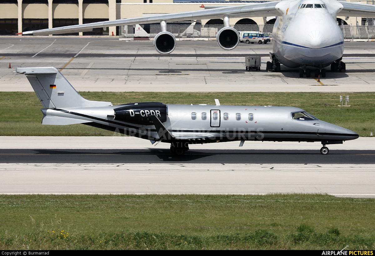 Silver Bird Business Charter D-CPDR aircraft at Malta Intl