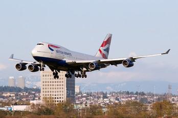 G-BNLJ - British Airways Boeing 747-400