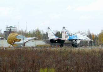 005 - Russia - Air Force Mikoyan-Gurevich MiG-29UB
