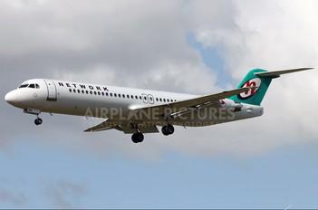 PH-ZFX - Network Aviation Fokker 100