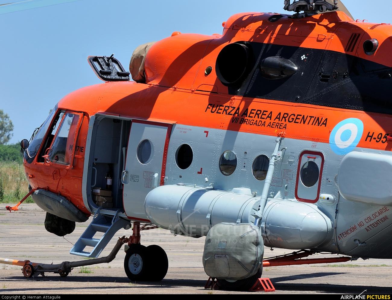 Argentina - Air Force H-95 aircraft at Mariano Moreno